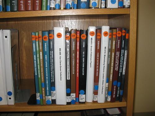 Manuscript finding aids, Dayton Metro Library