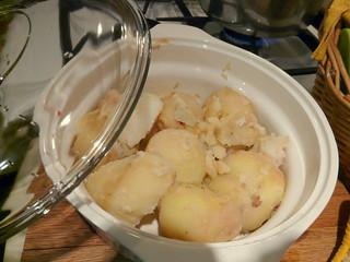 Peeled Potatoes