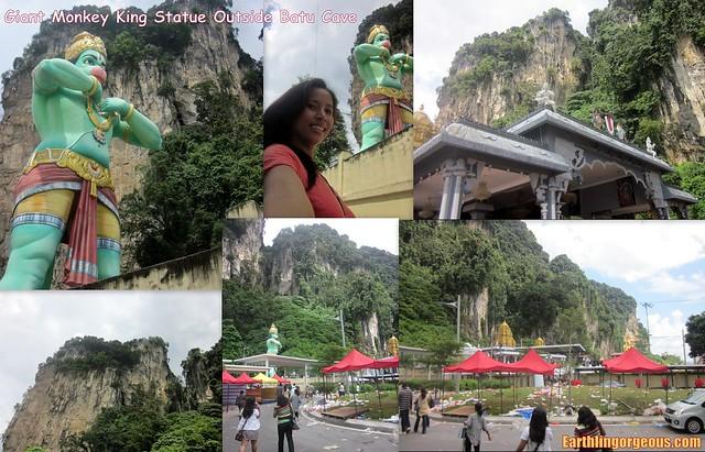 Giant Statue at Batu Caves