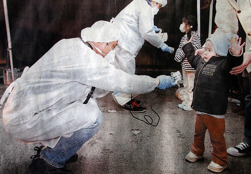 Checking the Radioactivity:東電福島第一原発事故