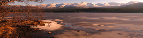 The Northern Corries from Loch Morlich