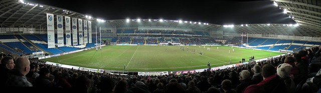 Blues v Leinster Panorama