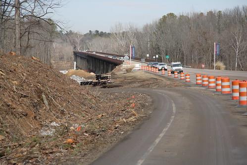 Huguenot Road bridge