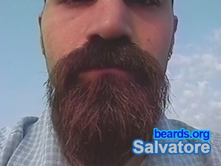 Salvatore: going goatee, part 13