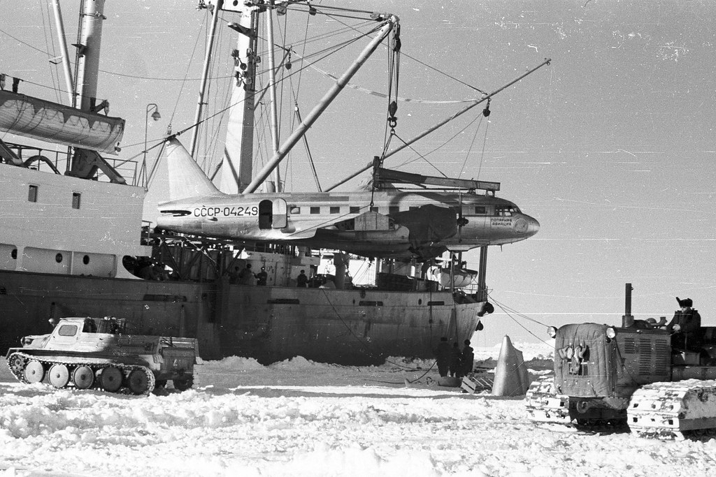 3rd Soviet Antarctic expedition 1958. 3-я Советская Антарктическая экспедиция 1958г.