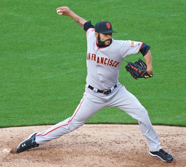 San Francisco Giants Closing Pitcher Sergio Romo