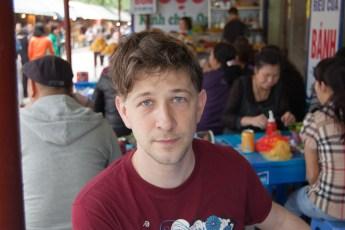 Philipp bei der Phu Tay Ho Pagode
