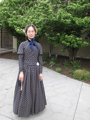 1840s Day Dress