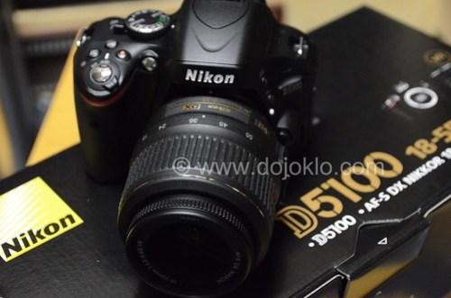 Nikon D5100 kit unbox