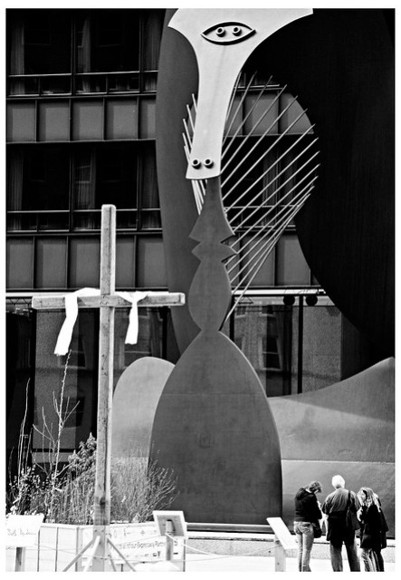 Picasso on The Cross