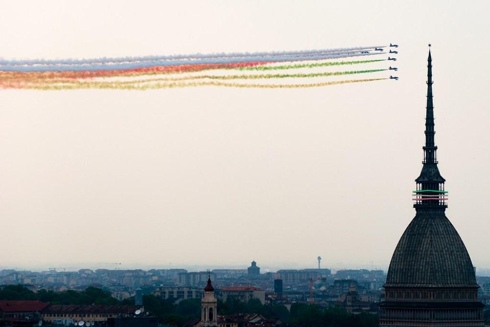Frecce Tricolori a Torino