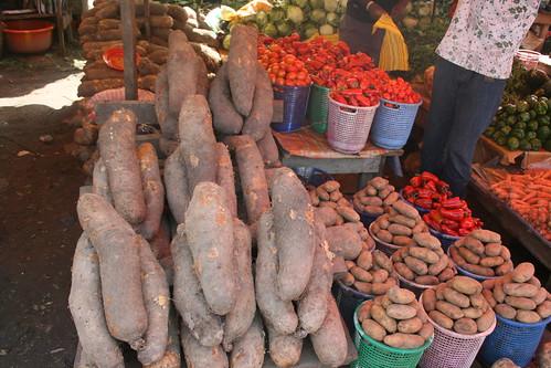 African Yams  - Utako Market by Jujufilms