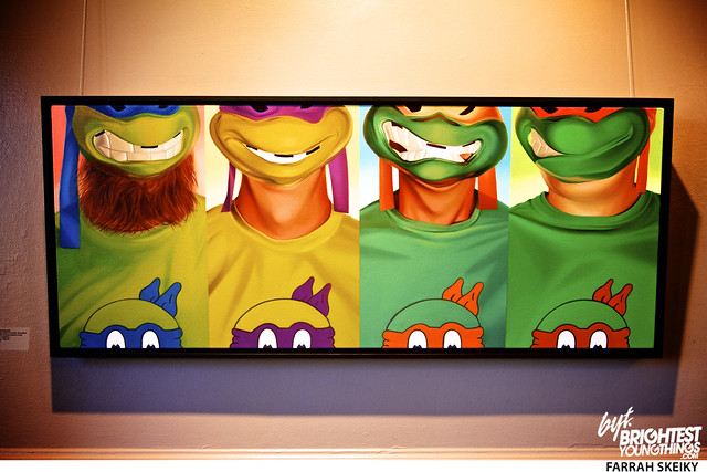 The Art of Comic Books Mansion at Strathmore Brightest Young Things Farrah Skeiky 4