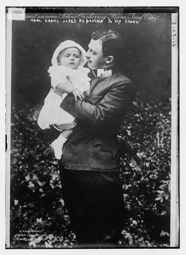 Karl Franz Jos. of Austria and son Franz (LOC)