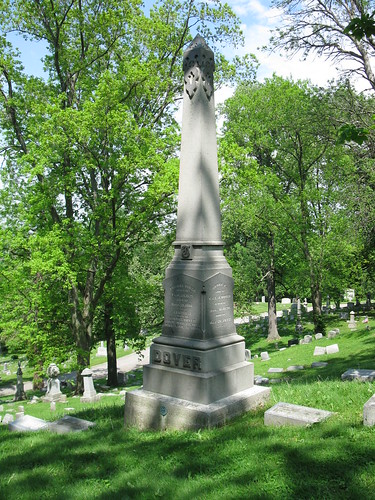 Tombstone of Thomas Dover in Woodland Cemetery