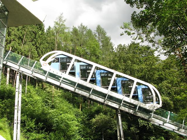 Hungerburg mountain railway