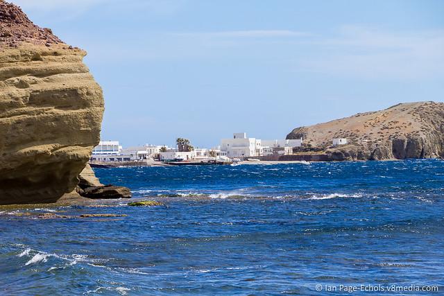 La Isleta del Moro between rocks