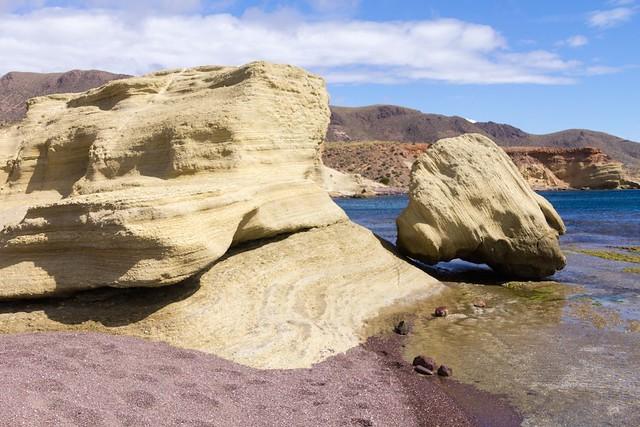 Stratified sandstone