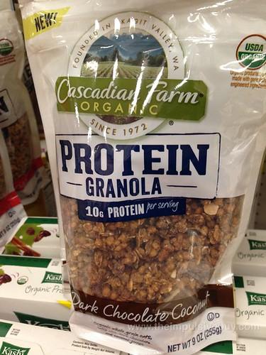 Cascadian Farm Dark Chocolate Coconut Protein Granola