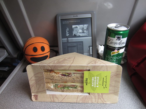 lunch on the eurostar