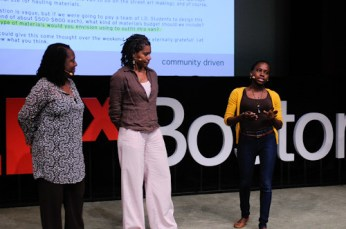 TEDxBoston 2011: Ekua Holmes, Judith Anderson, Sabrina Dorsainvil
