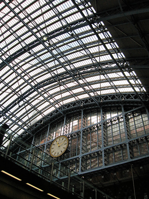 Elevenses at St Pancras