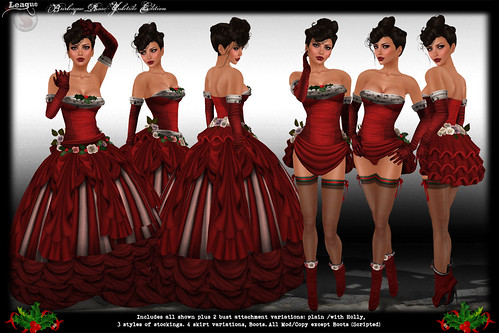 *League* Burlesque Rose Yuletide Limited Edition