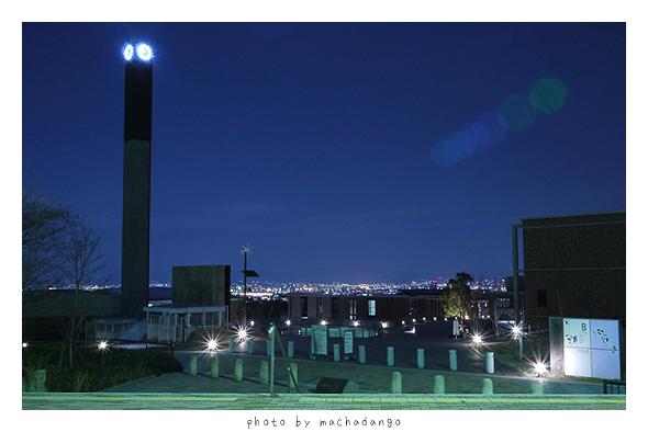 京都大學桂校區夜景