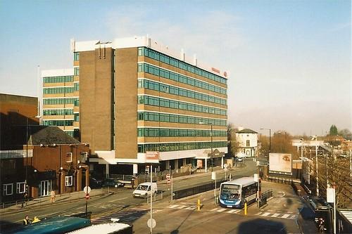 Altrincham Interchange (facing bus park)