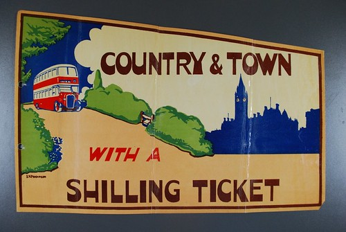 Country And Town With A Shilling Ticket