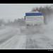 Snow on roade