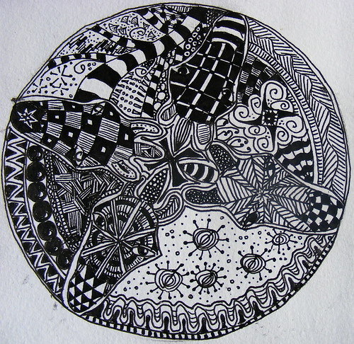 Zebra Mandala