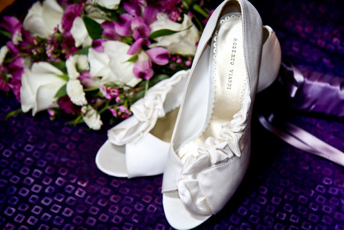 Katherine + Luis | Floral Shoes