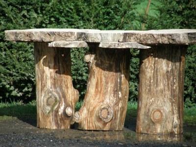 secret garden wedding table