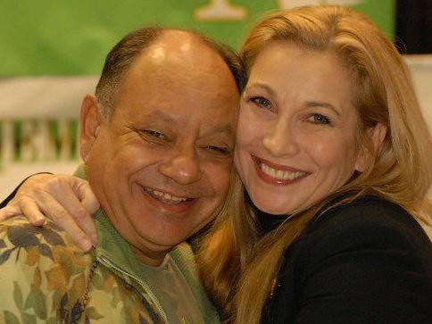 "Cheryl Shuman, C.E.O. of Green Asset International Inc. with Cheech Marin Star of ""Rob"" by CherylShumanInc"