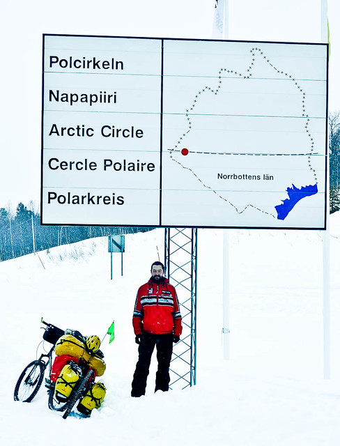 Crossing the Arctic Circle