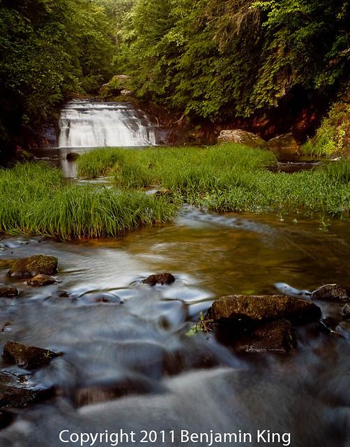 Kenloc Falls in Bankhead Nat'l Forrest