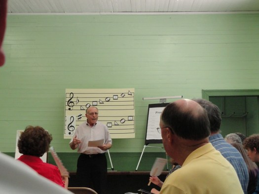 Sacred Harp Singing School at Cane Creek School, Tannehill, McCalla AL