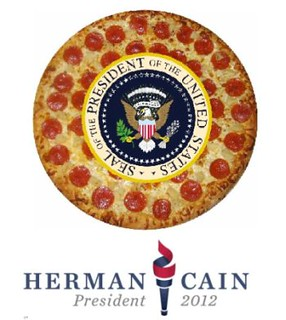 Herman Cain's Jumbo Slice of Ego