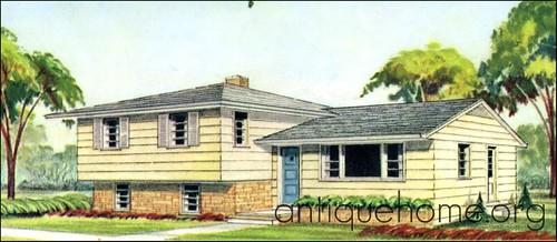 The Split Level House Plan