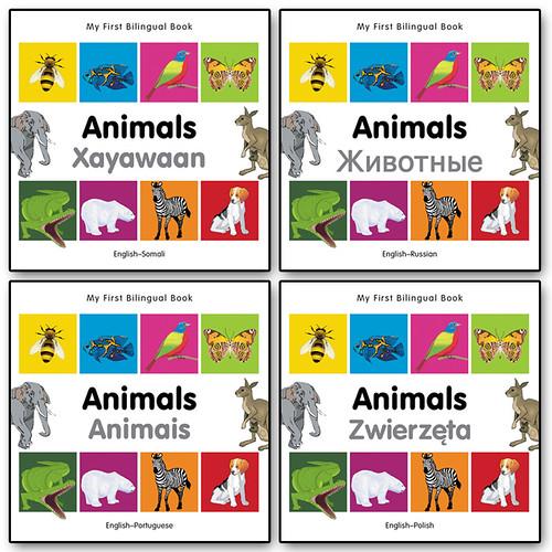 "Grafikofis Animals Bilingual Books ""Milet Publishing"""