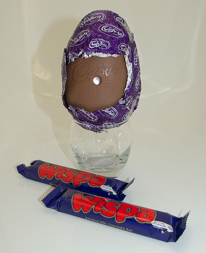 Easter Egg Pinhole Camera: Cadbury Whispa-cam by Graeme Pow