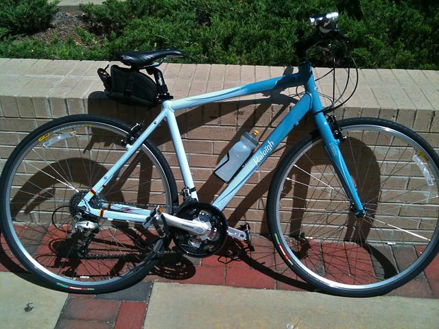 [113/365] Bicycle, Parapet