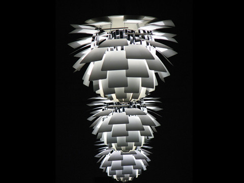 Poul Henningsen Style - Artichoke Lamp