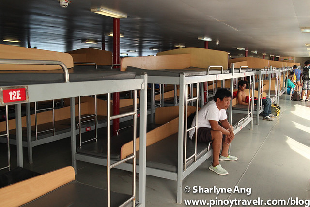 Inside MV St. Ignatius, Tourist section  - 2GO (Odiongan - Caticlan route)
