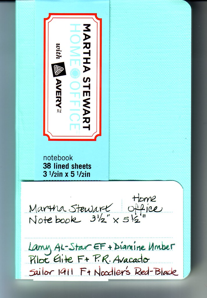 Martha Stewart Small Notebook