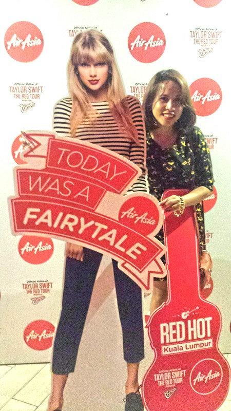 AirAsia Taylor Swift Livery Aircraft Launch in Kuala Lumpur