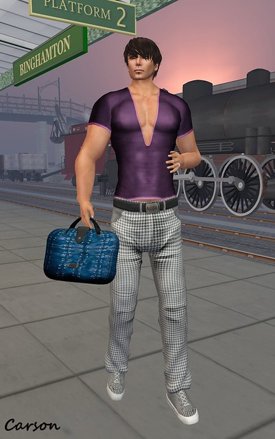 ALEIDA - Ronaldo V-Neck Shirt, Cafu Baggy Pants, and Luca Bag