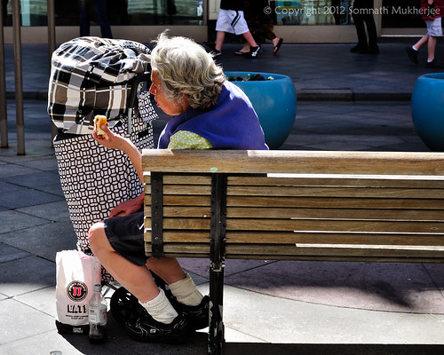 Hungry | 16th Street Mall | Denver, CO by Somnath Mukherjee Photoghaphy