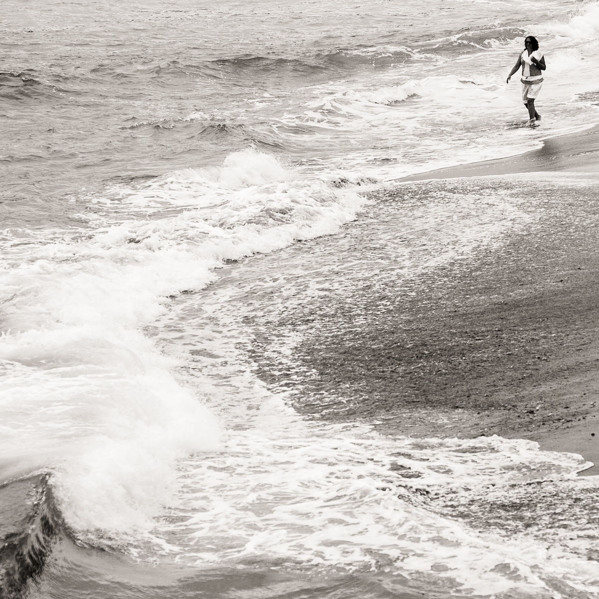 En la playa de San Juan de Luz (3115)